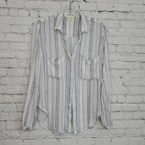 Cloth & Stone Anthropologie  button down blouse
